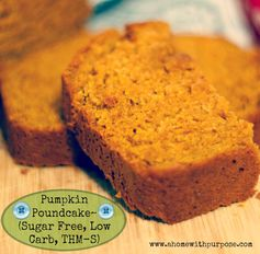 Sugar-Free Pumpkin Poundcake~ (S
