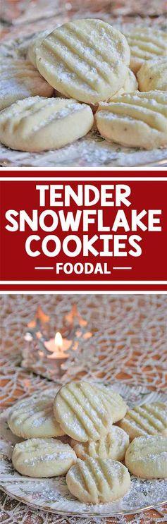 Tender Snowflake Cookies