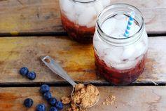 The Blueberry Rum Smash