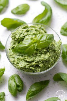 Vegan Basil Pesto (AIP/Paleo, Allergy Friendly