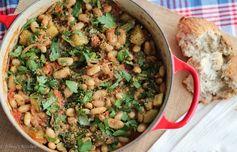 Vegan Cassoulet with White Beans & Garlic Breadcrumbs