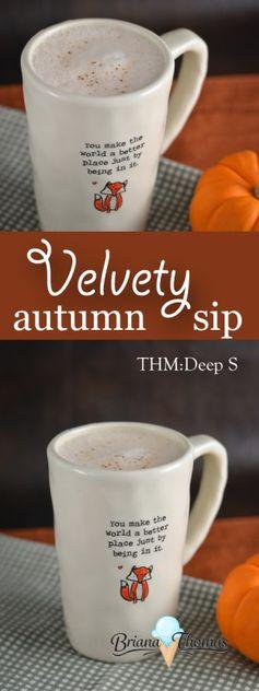 Velvety Autumn Sip