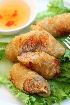 Vietnamese Spring Rolls (Cha Gio